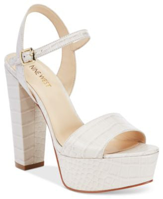 Nine West Carnation Platform Sandals
