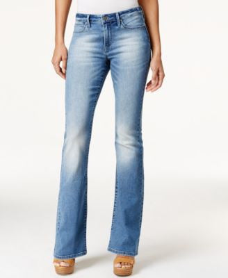 Calvin Klein Jeans Flare-Leg Authentic Blue Wash Jeans