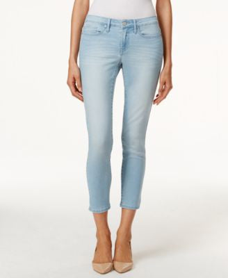 Calvin Klein Jeans Skinny Ankle Faded Sky Blue Wash Jeans