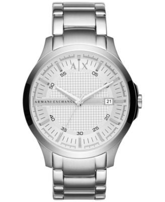 A|X Armani Exchange Men's Stainless Steel Bracelet Watch 46mm AX2177