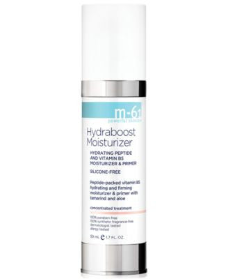 m-61 by Bluemercury Hydraboost Moisturizer Hydrating Peptide and Vitamin B5 Moisturizer & Primer, 1.