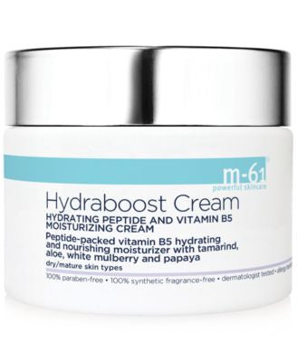 m-61 by Bluemercury Hydraboost Cream Hydrating Peptide & Vitamin B5 Moisturizing Cream, 1.7 oz
