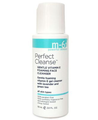 m-61 by Bluemercury Perfect Cleanse - Travel Size Gentle Vitamin E Foaming Face Cleanser, 2 oz