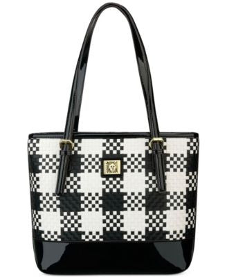 Anne Klein Perfect Woven Small Tote