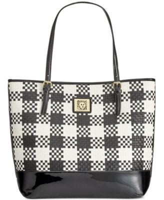 Anne Klein Perfect Woven Large Tote