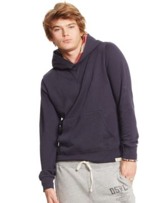 Denim & Supply Ralph Lauren Men's Flag-Hood Terry Sweatshirt