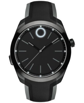 Movado Unisex Bold Motion Black PVD Stainless Steel Bracelet Smartwatch 44mm 3660002