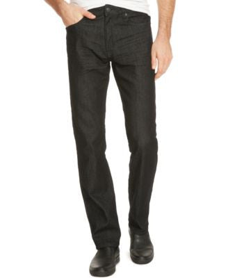 Kenneth Cole Reaction Men's Straight-Fit Dark Wash Jeans