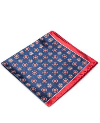 Club Room Medallion Pocket Square, Only at Vogily