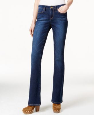 Calvin Klein Jeans Flare-Leg Inky Blue Wash Jeans