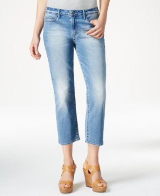 Calvin Klein Jeans Authentic Wash Cropped Jeans