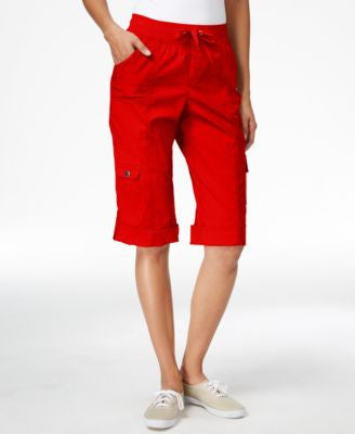 Style & Co. Cuffed Cargo Bermuda Shorts, Only at Vogily