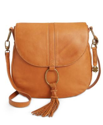 Lucky Brand Athena Convertible Flap Saddle Bag