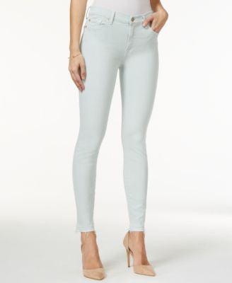 7 For All Mankind Skinny Sage Green Wash Jeans