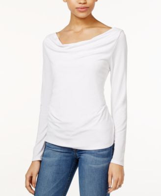 RACHEL Rachel Roy Long-Sleeve V-Back Top