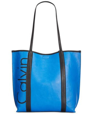 Calvin Klein Bold Logo Removable Pouch Tote