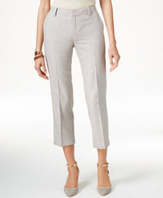 Tommy Hilfiger Cropped Straight-Leg Pants