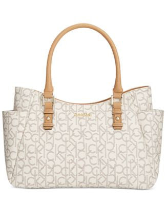 Calvin Klein Monogram Shopper