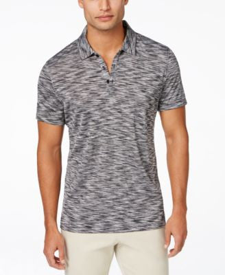 Alfani Men's Short-Sleeve Marled Polo, Only at Vogily