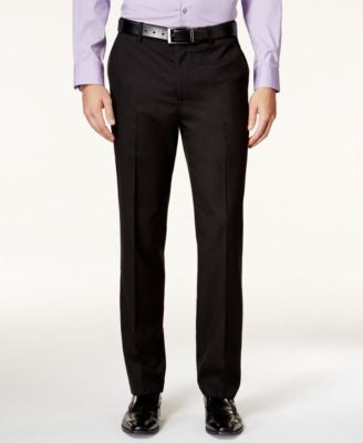 Alfani Men's Slim-Fit Black Iridescent Pants, Only at Vogily