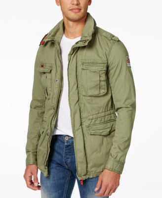 Superdry Men's Rookie Military Jacket
