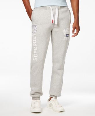 Superdry Men's Trackster Graphic-Print Logo Joggers