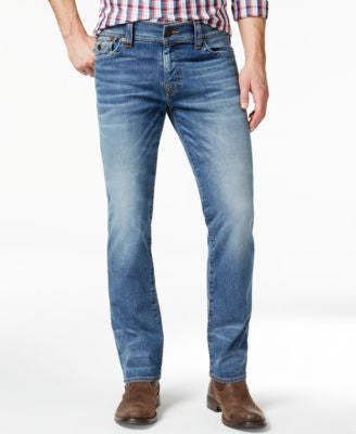 True Religion Men's Ricky Relaxed-Straight-Fit Flagstone Jeans