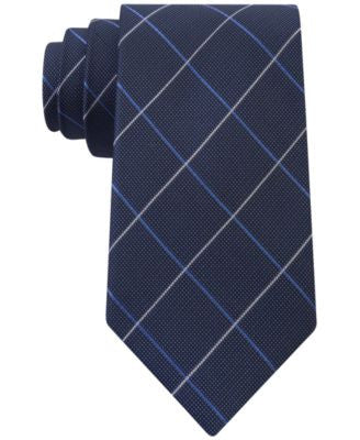 Club Room Men's Sea Grid Tie, Only at Vogily