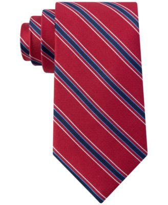 Club Room Men's Basic Stripe Tie, Only at Vogily