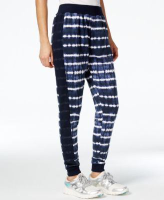Jessica Simpson The Warm Up Juniors' Mesh-Inset Jogger Pants, Only At Vogily