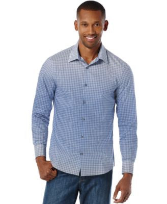 Perry Ellis Men's Kaleidoscope Ombre Print Shirt