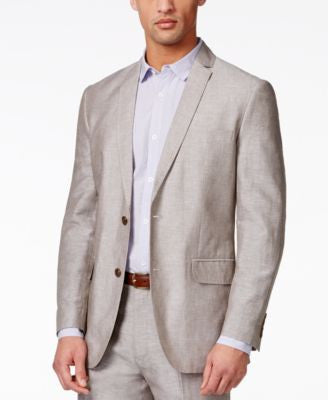 INC International Concepts Men's Neal Linen Suit Jacket, Only at Vogily
