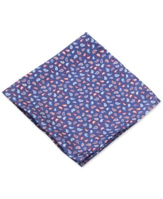Club Room Pine Paisley Pocket Square, Only at Vogily