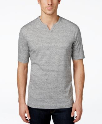 Weatherproof Vintage Split-Neck Henley Shirt