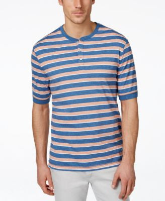 Weatherproof Vintage Slub Striped Henley
