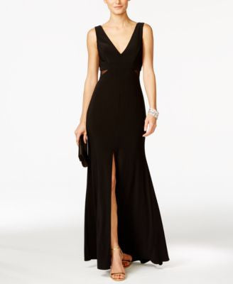 Xscape Illusion Flyaway Gown