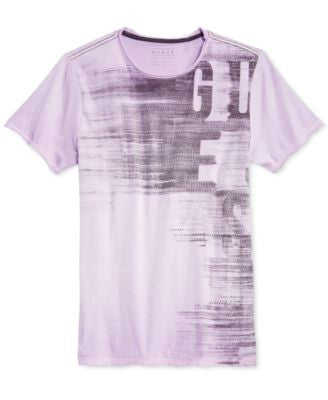 GUESS Men's GES Subliminal Graphic-Print T-Shirt