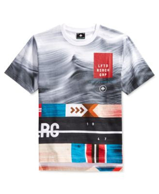 LRG Men's Big & Tall Undercurrent Graphic-Print T-Shirt