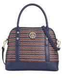 Tommy Hilfiger Hadley Woven Dome Satchel