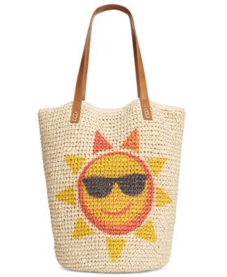 Style & Co. Sun Straw Beach Bag, Only at Vogily