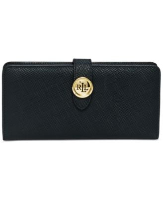 Lauren Ralph Lauren Charleston Snap Continental Wallet