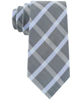 Kenneth Cole Reaction Men's Frosted Grid Skinny Tie