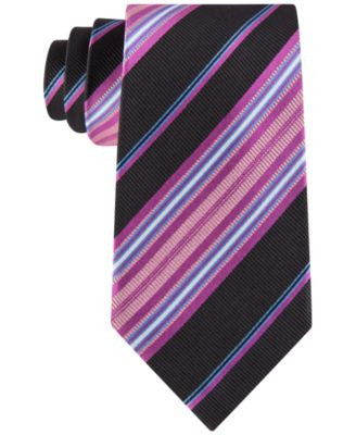 Peter Thomas Men's Party Stripe Classic Tie