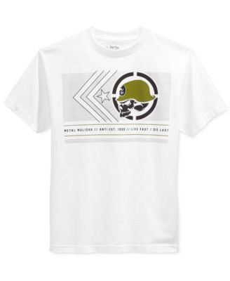Metal Mulisha Men's Dash Graphic-Print Logo T-Shirt