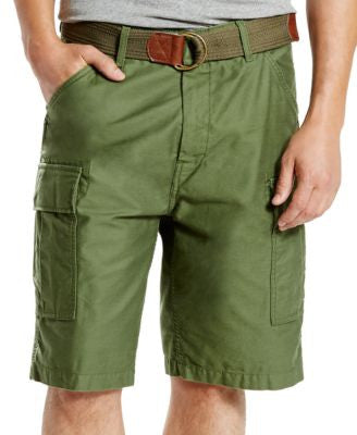 Levi's® Men's Fort Relaxed-Fit Meadow Moss Cargo Shorts