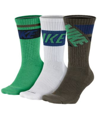 Nike Dri-FIT Fly Rise Crew Socks 3-Pack