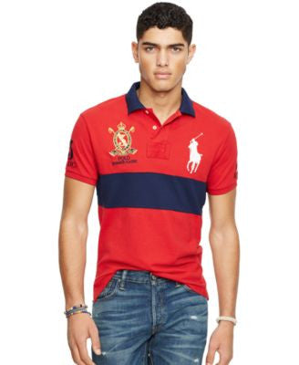 Polo Ralph Lauren Men's Custom-Fit Colorblocked Polo Shirt