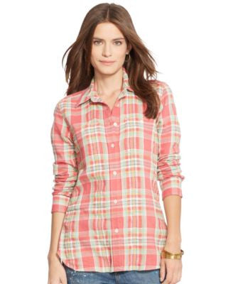 Lauren Ralph Lauren Cotton Button Down Shirt