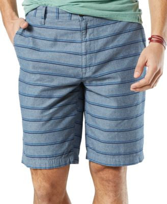 Dockers Men's Striped Shorts, Classic Fit