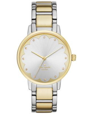 kate spade new york Women's Gramercy Two-Tone Stainless Steel Bracelet Watch 34mm KSW1045